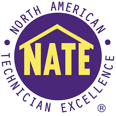 North American Technician Excellence, NATE, certifications and licenses, Certified HVAC Technicians, Seashore Comfort Solutions